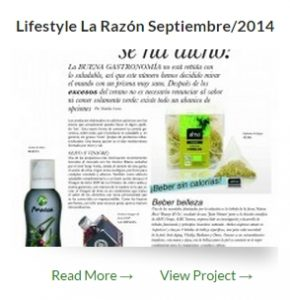 Lifestyle La Razón - La Chinata